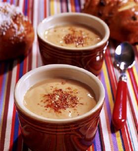Crème brûlée à la crème de marrons pour 4 personnes