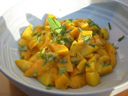 Recette de salade de mangues