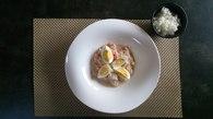 Recette de salade tahitienne façon ceviche