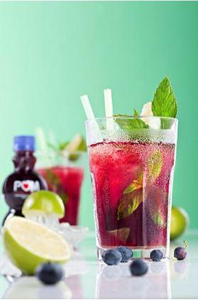 Recette de cocktail pom mojito