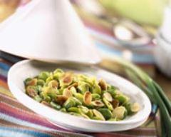 Recette salade de fèves aux amandes