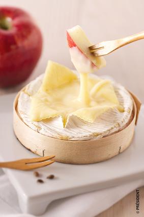Recette de camembert rôti à la pomme
