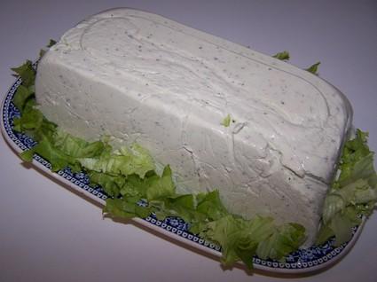 Recette de terrine au fromage frais et gorgonzola