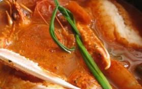 Ragoût de poisson et crustacés pour 8 personnes