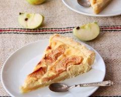 Tarte-flan aux pommes alsacienne | cuisine az