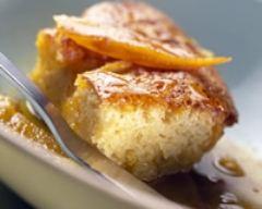 Recette gâteau aux pommes et sirop au safran