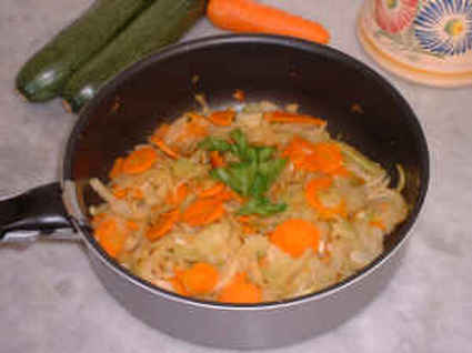 Recette de fenouil et carottes