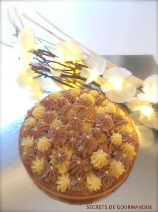 Recette de tarte aux clémentines, citron, ganache montée chocolat ...