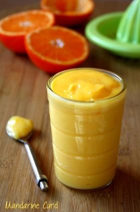 Recette de crème de mandarine sans beurre