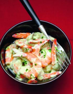Crevettes sauce aux herbes fraiches pour 6 personnes ...