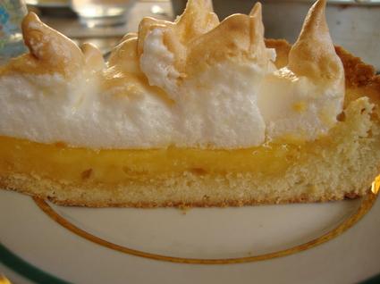 Recette de tarte meringuée au pamplemousse