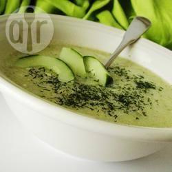 Recette potage de concombre au yaourt – toutes les recettes ...