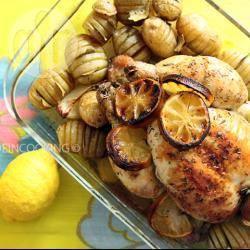 Recette poulet rôti au citron et au thym – toutes les recettes allrecipes