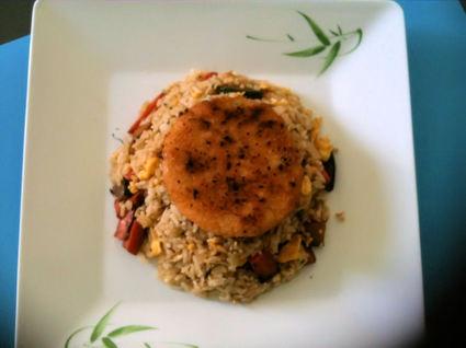 Recette de riz frit aux légumes