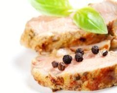Recette filet mignon de porc au beurre de basilic
