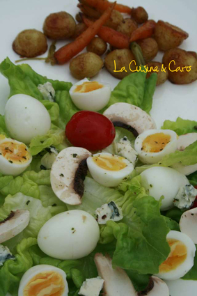Recette de salade primeur
