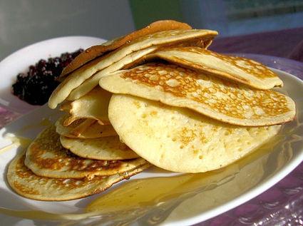 Recette de pancakes au sucre vanillé