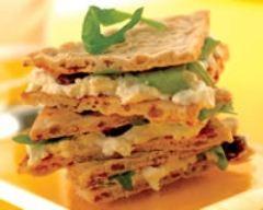 Recette sandwich au chèvre frais, au miel et aux raisins secs