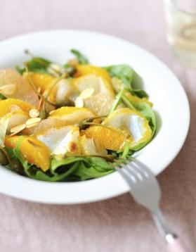 Salade de haddock, pamplemousse pour 4 personnes