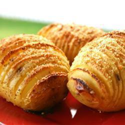 Recette pommes de terre au four à la suédoise (hasselback ...