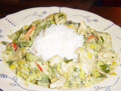 Recette de curry de dinde au lait de coco