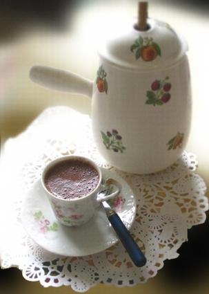 Recette chocolat chaud (boisson brunch)