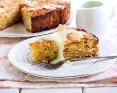Recette gâteau aux pommes au vin blanc