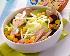 Recette thon en salade maraichère