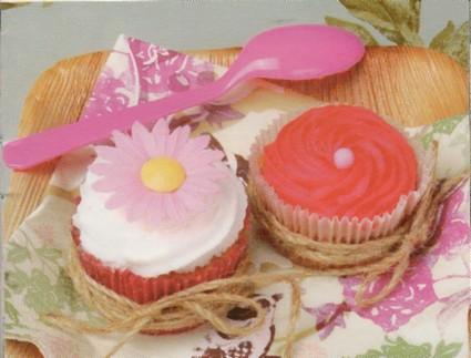 Recette de cupcakes à la rose
