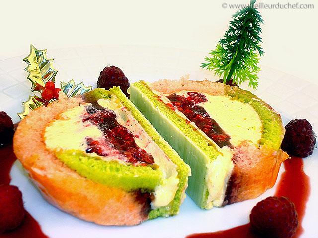 Framboisier de noël  la recette avec photos  meilleurduchef.com