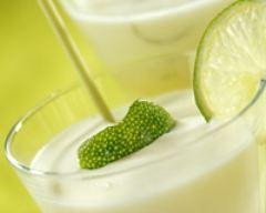 Recette mousse glacée de lait de coco au citron vert
