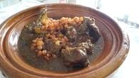 Recette de tajine aux bœuf et raisins secs