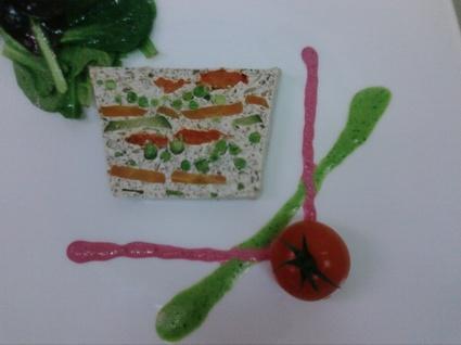 Recette de terrine de légumes aux champignons
