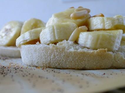 Muffins anglais façon croque-banane