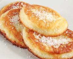 Recette pancakes thaïs banane-coco