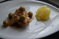 Recette de poulet aux olives au vin blanc