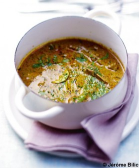 Curry de bœuf pour 6 personnes