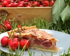 Recette tarte amandine aux cerises