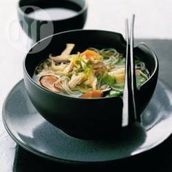 Recette soupe de poulet à la japonaise – toutes les recettes ...