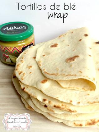 Recette de tortillas de blé ou wrap