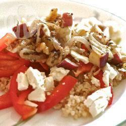 Recette salade de boulgour à la poire et au gorgonzola – toutes les ...