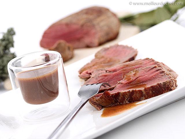 Rôti de boeuf  recette de cuisine illustrée  la meilleur cuisson ...