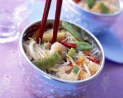 Recette chop suey aux crevettes