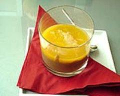 Recette crème au chocolat et son jus d'orange épicé