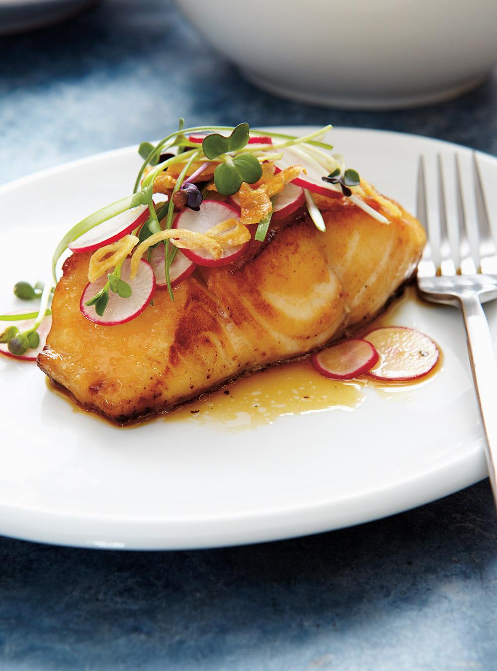 Papillotes de poisson et vinaigrette au cari recettes for Article de cuisine ricardo