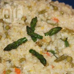 Recette risotto aux asperges, poireaux et petits pois – toutes les ...