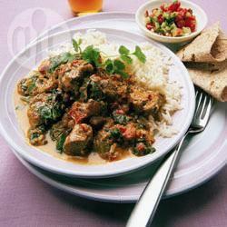 Recette curry d'agneau aux épinards – toutes les recettes allrecipes