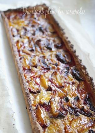 Recette de tarte alsacienne aux quetsches et mirabelles