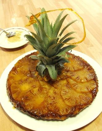 Recette de tatin d'ananas et gingembre