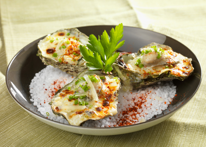 Recette de huître d'arcachon à l'ossau-iraty